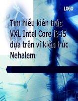 Tìm hiểu kiến trúc VXL intel core i3 i5 dựa trên nền Nehalem silde