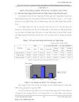 Phân tích HOẠT ĐỘNG tín dụng tại Ngân hàng Đầu tư và Phát triển Chi nhánh Trà Vinh