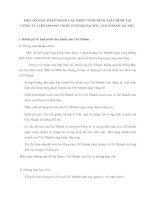 MỘT SỐ GIẢI PHÁP NHẰM CẢI THIỆN TÌNH HÌNH TÀI CHÍNH TẠI CÔNG TY LIÊN DOANH TNHH JUPITER PACIFIC CHI NHÁNH HÀ NỘI