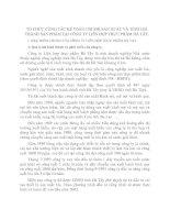 TỔ CHỨC CÔNG TÁC KẾ TOÁN CHI PHÍ SẢN XUẤT VÀ TÍNH GIÁ THÀNH SẢN PHẨM TẠI CÔNG TY LIÊN HỢP THỰC PHẨM HÀ TÂY
