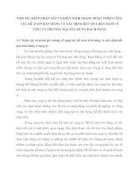 MỘT SỐ í KIẾN NHẬN XẫT VÀ KIẾN NGHỊ NHẰM  HOÀN THIỆN CễNG TÁC KẾ TOÁN BÁN HÀNG VÀ XÁC ĐỊNH KẾT QUẢ BÁN HÀNG Ở CễNG TY THƯƠNG MẠi XÂY DỰNG BẠCH ĐẰNG