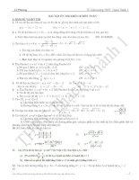Bài soạn Bài tập các chuyên đề Toán 10 (cực hay)