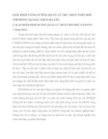 GIẢI PHÁP TĂNG CƯỜNG QUẢN LÝ THU THUẾ TNDN ĐỐI VỚI DNNN TẠI CỤC THUẾ HÀ TÂY