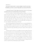 VẬN DỤNG CHUẨN MỰC 03  HOÀN THIỆN TỔ CHỨC KẾ TOÁN TSCĐHH TẠI CễNG TY GIAO NHẬN KHO VẬN NGOẠI THƯƠNG