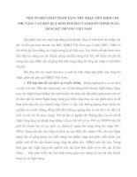 MỘT SỐ BIỆN PHÁP NHẰM TĂNG THU NHẬP, TIẾT KIỆM CHI PHÍ, NÂNG CAO KẾT QUẢ KINH DOANH CỦA HỘI SỞ CHÍNH NGÂN HÀNG KỸ THƯƠNG VIỆT NAM