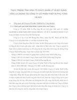 THỰC TRẠNG TÌNH HÌNH TỔ CHỨC QUẢN LÝ VÀ SỬ DỤNG VỐN LƯU ĐỘNG TẠI CÔNG TY CỔ PHẦN THIẾT BỊ PHỤ TÙNG HÀ NỘI