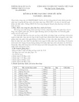 Bài soạn ke hoach phu dao hs yeu kem