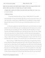 MỘT SỐ GIẢI PHÁP GÓP PHẦN HOÀN THIỆN CÔNG TÁC HẠCH TOÁN VỐN BẰNG TIỀN TẠI CÔNG TY TNHH TM & DV TRUNG MINH