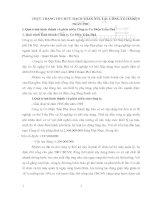 THỰC TRẠNG TỔ CHỨC HẠCH TOÁN NVL TẠI  CÔNG TY CƠ ĐIỆN TRẦN PHÚ