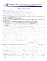 Bài tập trắc nghiệm sóng cơ