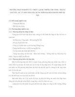 PHƯƠNG PHÁP NGHIÊN CỨU THIẾT LẬP HỆ THỐNG THU GOM - TRUNG CHUYỂN - XỬ LÝ PHẾ THẢI XÂY DỰNG TRÊN ĐỊA BÀN THÀNH PHỐ HÀ NỘI