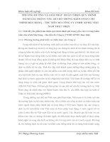 PHƯƠNG HƯỚNG VÀ GIẢI PHÁP  HOÀN THIỆN QUY TRÌNH ĐÁNH GIÁ TRỌNG YẾU, RỦI RO TRONG KIỂM TOÁN CHU TRÌNH BÁN HÀNG – THU TIỀN DO CÔNG TY TNHH  KPMG VIỆT NAM THỰC HIỆN