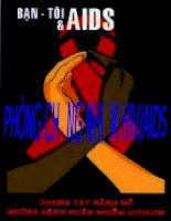 Tài liệu PHONG CHONG NHIEM HIV / AIDS