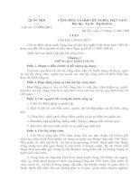 Tài liệu Luật Cán bộ công chức