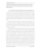 TÌNH HÌNH TRIỂN KHAI NGHIỆP VỤ BẢO HIỂM XUẤT NHẬP KHẨU VẬN CHUYỂN BẰNG ĐƯỜNG BIỂN TẠI CÔNG TY BẢO MINH HÀ NỘI