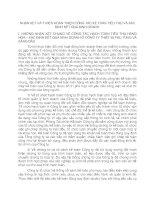 NHẬN XÉT VÀ Ý KIẾN HOÀN THIỆN CÔNG TÁC KẾ TOÁN TIÊU THỤ VÀ XÁC ĐỊNH KẾT QUẢ KINH DOANH