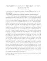 MỘT SỐ KIẾN NGHỊ NHẰM HOÀN THIỆN PHÁP LUẬT VỀ BẢO LÃNH NGÂN HÀNG