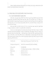 THỰC TRẠNG RỦI RO TÍN DỤNG VÀ CÔNG TÁC QUẢN TRỊ RỦI RO TÍN DỤNG TẠI NGÂN HÀNG NAM VIỆT