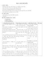 Bài giảng giao an sinh 8 cực chuẩn