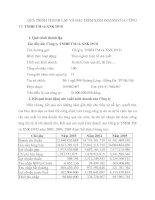 QUÁ TRÌNH THÀNH LẬP VÀ ĐẶC ĐIỂM KINH DOANH CỦA CÔNG TY TNHH TM và XNK DVD