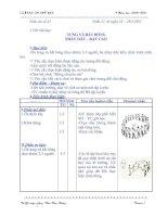Tài liệu Tuần 21 TD lớp 5