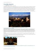 Những công trình kiến trúc cổ