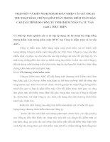 NHẬN XÉT VÀ KIẾN NGHỊ NHẰM HOÀN THIỆN CÁC KỸ THUẬT THU THẬP BẰNG CHỨNG KIỂM TOÁN TRONG KIỂM TOÁN BÁO CÁO TÀI CHÍNH DO CÔNG TY TNHH KIỂM TOÁN VÀ TƯ VẤN