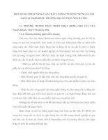 MỘT SỐ GIẢI PHÁP NÂNG CAO CHẤT LƯỢNG TÍN DỤNG TRUNG VÀ DÀI HẠN TẠI NGÂN HÀNG THƯƠNG MẠI CỔ PHẦN NHÀ HÀ NỘI