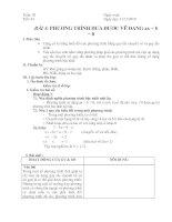 Bài giảng Tiet 43: Bai 3: Phuong trinh dua duoc ve dang ax+b =0