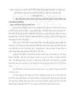 THỰC TRẠNG CỦA TỔ CHỨC KẾ TOÁN TẬP HỢP CHI PHÍ VÀ TÍNH GIÁ THÀNH SP TẠI TRUNG TÂM KỸ THUẬT TRUYỀN HÌNH CÁP
