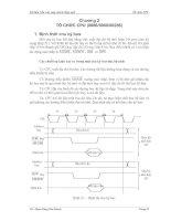 Cấu trúc máy tính và hợp ngữ .chương 2