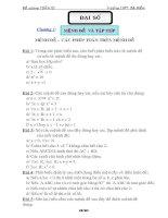 Bài soạn đề cuơng toán 10 CB
