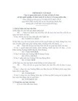Gián án Huóng Dẫn cách trình bày văn bản