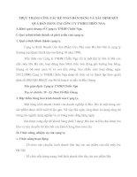 THỰC TRẠNG CễNG TÁC KẾ TOÁN BÁN HÀNG VÀ XÁC ĐỊNH KẾT QUẢ BÁN HÀNG TAI CễNG TY TNHH CHIẾN NGA