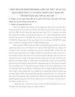 MỘT SỐ GIẢI PHÁP MỞ RỘNG CHO VAY TIÊU  DÙNG TẠI NGÂN HÀNG ĐẦU TƯ VÀ PHÁT TRIỂN VIỆT NAM CHI NHÁNH 53 QUANG TRUNG HÀ NỘI