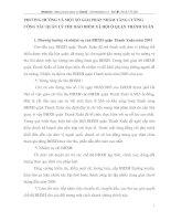 PHƯƠNG HƯỚNG VÀ MỘT SỐ GIẢI PHÁP NHẰM TĂNG CƯỜNG CÔNG TÁC QUẢN LÝ THU BẢO HIỂM XÃ HỘI Ở QUẬN THANH XUÂN
