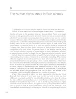 The human rights creed in four schools