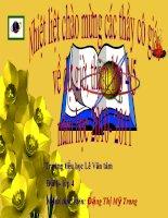 Gián án Đia li 4- ngươi dân ơ đông băng Nam Bô