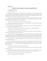 Chương 6 Quản lí qui hoạch và xây dựng Đô thị