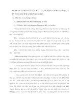 LÝ LUẬN CƠ BẢN VỀ VỐN ĐẦU TƯ XÂY DỰNG CƠ BẢN VÀ QUẢN LÝ VỐN ĐẦU TƯ XÂY DỰNG CƠ BẢN