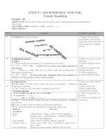 Bài soạn giao an Tieng Anh 10