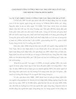 GIẢI PHÁP TĂNG CƯỜNG CHO VAY TRẢ GÓP MUA Ô TÔ TẠI CHI NHÁNH VPBANK HOÀN KIẾM