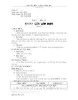 Bài soạn Tiết 43 - Chỉnh sửa văn bản (t2)