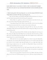GIẢI PHÁP NÂNG CAO CHẤT LƯỢNG CHO VAY DOANH NGHIỆP NGÀNH XÂY DỰNG TẠI CHI NHÁNH NHTMCP XNK EXIMBANK HÀ NỘI