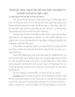 ĐÁNH GIÁ THỰC TRẠNG TỔ CHỨC KẾ TOÁN TẠI CÔNG TY CỔ PHẦN XÂY DỰNG THỦY LỢI I