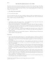 Bài 2: Môi trường kinh doanh và tài chính