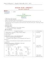 Bài soạn giao an anh 7 (bo)