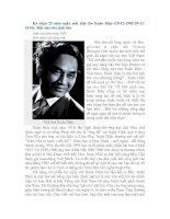 Kỷ niệm 25 năm ngày mất nhà thơ Xuân Diệu
