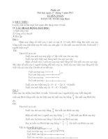 Bài soạn Giao an boi duong Toan-Tieng viet Tuan 20