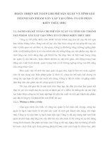 HOÀN THIỆN KẾ TOÁN CHI PHÍ SẢN XUẤT VÀ TÍNH GIÁ THÀNH SẢN PHẨM XÂY LẮP TẠI CÔNG TY CỔ PHẦN KIẾN TRÚC IDIC